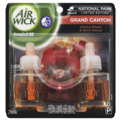 Air Wick Scented Oil Air Freshener, National Park Collection, Grand Canyon, 2 Refills, 20ml