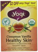 Yogi Cinnamon Vanilla Healthy Skin Tea, 16 Tea Bags