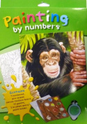 Paint by Numbers Art Kit- Chimpanzee