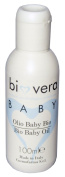 Cosmofarma Bio Vera Baby Oil Massage No-Rinse Cleansing and Cradle Cap, 100ml