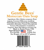 Gentle Bees Moroccan Oats Soap