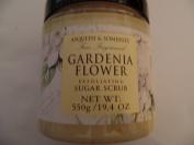 Asquith and Somerset Fine Fragranced Gardenia Flower Exfoliating Salt Scrub