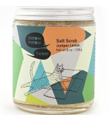 Juniper Lemon Salt Scrub 240ml by Meow Meow Tweet