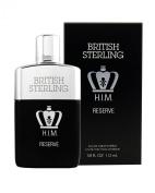 British Sterling H.I.M. Reserve 3.8 FL OZ 112 ML EDT