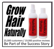 Best Selling Nutrifolica Combo Ends Hair Loss Treatment and Shampoo All Natural