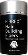 FIBREX Hair Building Thickening Fibres Loss Concealer Black 15g 15ml. Toppik X-Fusion Caboki