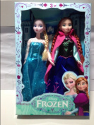 Frozen Doll Toy Frozen Elsa Princess & Anna Princess Doll