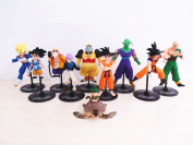 Dragon Ball Z Figures Goku Master Roshi Figure Chidren Toy 10pcs/set