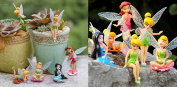 6pce Set of Fairy Figurines