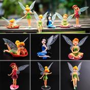 Set of 6 Fairy Figurines