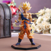 Japanese Anime Dragon Ball Z Super Saiyan Goku 17cm Pvc Action Figure Model Collection Toy Gift Withbox