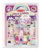 Deluxe Puffy Sticker Album - Day of Glamour Deluxe Puffy Sticker Album - Day of Glamour