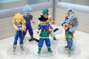 13cm Lot AF Dragonball Dragon Ball Z Lot Action Figure GOKU SAIYAN Set of 6pcs