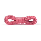 1 piece for 5m Korea Waxed Cotton Cord Size 2x2mm Colour Pink