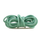 2m Leather Cord Colour Leaf Green Size 3x3mm