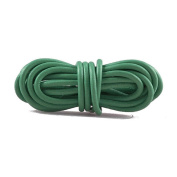 2m Leather Cord Colour Dark Green Size 3x3mm