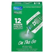 SmartMouth 12-Hour Fresh Breath On The Go, Fresh Mint 10 ea
