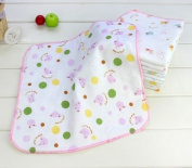 Sunny-business Multicolor Baby Soft Wash Handkerchief Bath Towel Wipe 5 Pcs