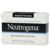 Neutrogena Transparent Facial Bar Soap, Original 100ml