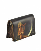 Icon Women's Music of the Spheres Leather Rectangular Cross-Body Clutch