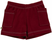 Kiwi Shorts (Baby) - Red-12-18 Months