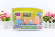 New Plastic Pepa Peppa Pig Action Figure Toys Dolls Daddy Mummy Pig George Peppa Pig Family Set New Product For Baby Toys