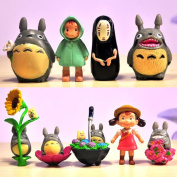 Newjapanese Hayao Miyazaki Anime Totoro Spirited Away Pvc Mini Action Figures Kids Classic Toys For Girls Children Boys