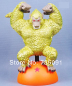 New Dragon Ball Z Son Goku Oozaru Destroyer Goldfigure Toy New Loose