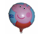 P1186 New 46cm  Peppa Pig Partyfoil Balloons Children Birthday Party Decoration Balloons Peppa Pig Party Classic Toys