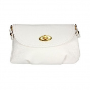 Women Lady Handbag Satchel Cross Body Purse Totes Bags Shoulder Messenger White