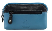 Visconti RB62 Multi Colour Soft Leather Coin Purse Key Wallet With Key Chain