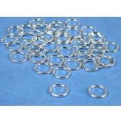 40 Sterling Silver Jump Rings Closed Jewellery 18 Gauge 8mm