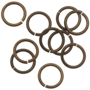 Vintaj Natural Brass Jump Rings 10mm Heavy 15 Gauge