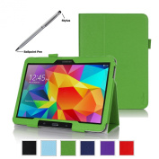 ProCase Samsung Galaxy Tab 4 10.1 Tablet Case with bonus stylus pen - Bi-Fold Stand Cover Case for 25cm Galaxy Tab 4 (2014 released), with auto Sleep/Wake, Hand Strap, also compatible with Galaxy Tab 3 10.1