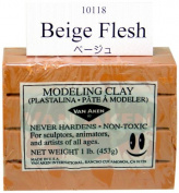 Van Aaken Modelling Clay 0.5kg Flesh