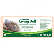 Polyform 0.5kg Super Sculpey Living Doll Clay, Baby