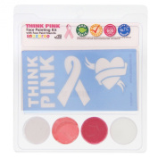 Snazaroo Think Pink Face Painting Stencil Kits