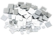 Mosaic Square Mirror Tiles - Assorted, Mosaic Square Mirror Tiles, Pkg of 100