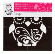 Tulip Design Stencil Template, Small, Owl