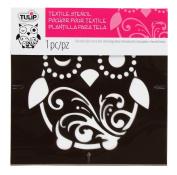 Tulip Design Stencil Template, Small, Owl