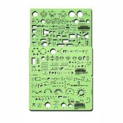 Rapidesign Electrical/Electronics Symbol Templates Set, 3 Templates
