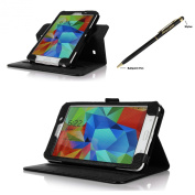 ProCase for  for  for  for  for  for  for  for Samsung        Galaxy Tab 4 7.0 Dual View Case (horizontal and vertical display) - Rotating Stand Folio Cover Case for 18cm Galaxy Tab 4 (2014 released) with Corner Protected, and bonus Stylus Pen