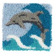 Craftways Dolphin Latch Hook Kit