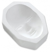 Mayco Plain Face Mask Mould - 23cm x 13cm - Each