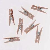 Darice 9151-08 Mini Spring Clothes Pin, Natural, 2.5cm