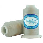 Polyester Sewing Thread - 600m - Colour 414 - SILVER GREY - 80 Colours Available - Threadart