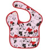 Bumkins Disney Baby Waterproof Super Bib, Minnie Classic, 6-24 Months
