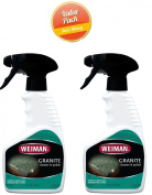 Weiman Products 78 Granite Cleaner and Polish, 350ml, 2 Pack
