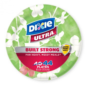 Dixie Ultra Disposable Plates, 17cm , 44 Count