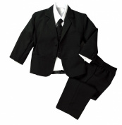 Spring Notion Baby Toddler Formal Black Dress Suit Set